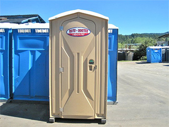 Portable Toilet Rentals from Curry Transfer and Recycling's Roto Rooter Division
